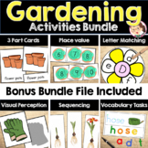 Gardening PreK Literacy and Math Activities