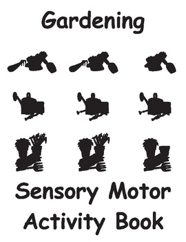 Gardening Sensory Motor Activity Book