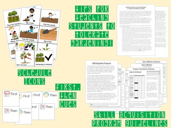 Gardening Skills for Special Education, Autism or ABA Classroom