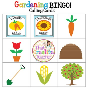 Gardening Theme BINGO!