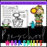 Preschool Gardening Worksheets