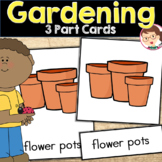 Gardening Preschool and PreK Literacy Activity