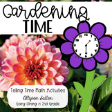 Gardening Time - Telling Time Spring Activities