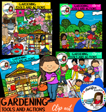 Gardening Tools And Actions clip art- 98 graphics!
