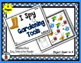 Gardening Tools Book 1  - Adapted 'I Spy' Easy Interactive