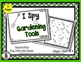Gardening Tools Book 2  - Adapted 'I Spy' Easy Interactive