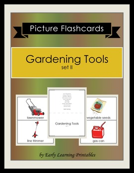 Gardening Tools (set II) Picture Flashcards