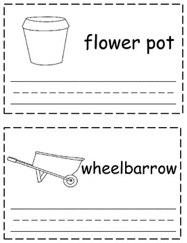 Gardening Trace & Write Book