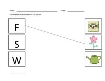 Gardening Worksheets and Printouts