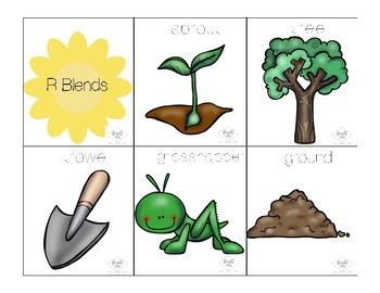 Gardening for Articulation - R, S, L Activities