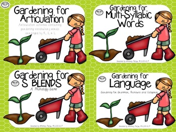 Gardening for Speech & Language Mega Unit
