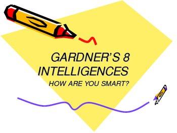 Gardner's 8 Intelligences - Powerpoint