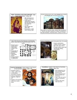 Byzantine Art Notes