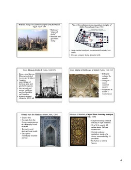 Islamic Art Notes