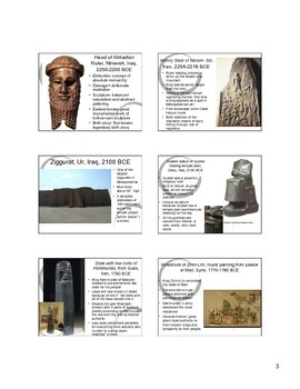 Mesopotamian Art Notes