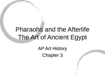 Egyptian Art Powerpoint (Gardner's Art Through the Ages Ch