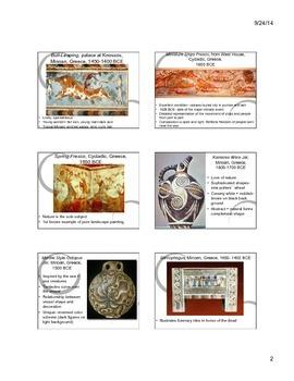 Aegean Art Notes