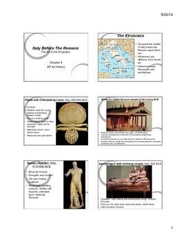Etruscan Art Notes