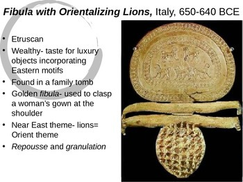 Etruscan Art Powerpoint (Gardner's Art Through the Ages- Chapter 9)