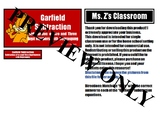 Garfield Subtraction File Folder Activity