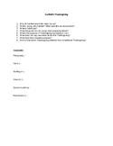 Garfield's Thanksgiving Worksheet