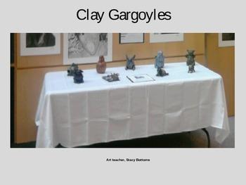 Gargoyles in Clay