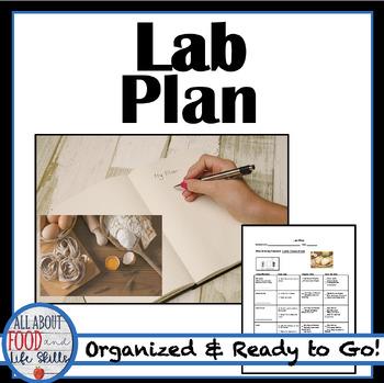 Lab Plan Sheet