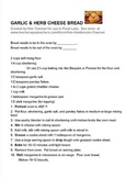 Garlic and Cheese Biscuits ~ by Kim Townsel