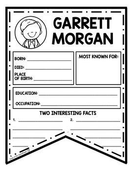 Garrett Morgan Activities