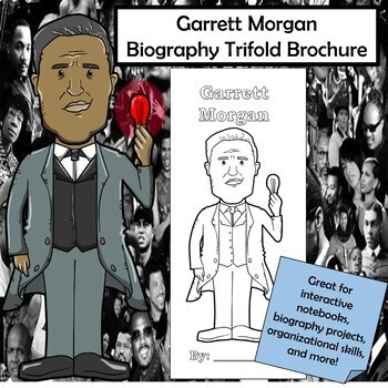 Garrett Morgan Biography Trifold Brochure