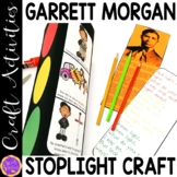 Black History Month Crafts   Garrett Morgan Stop Light cra