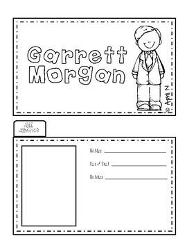 Garrett Morgan Writing Tab Book