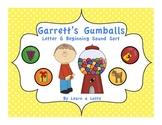 Garrett's Gumballs - Letter G Beginning Sound Sort