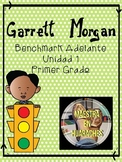 "Garrett Morgan - Benchmark Adelante Unit 1- ""¡Es seguro seguir!"" Growing Bundle!"