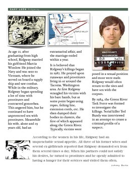 Forensics - Gary Leon Ridgway - The Green River Killer