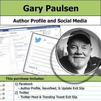 Gary Paulsen - Author Study - Profile and Social Media