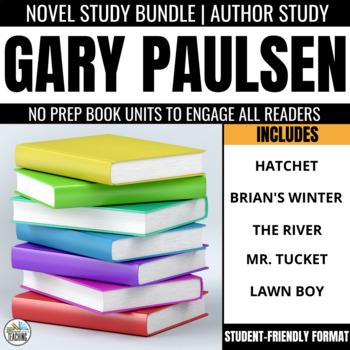 The River By Gary Paulsen Novel Study Worksheets TpT