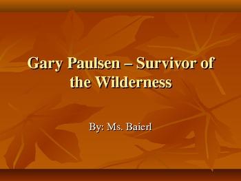 Gary Paulsen Power Point