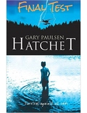 "Gary Paulsen's ""Hatchet"" Final Test (w/ Answer KEY)"