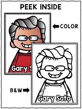 Gary Soto Hispanic Heritage Craft Activity