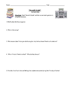 7th Grade Reading Worksheets With Answer Key - Preschool ...