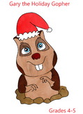 Gary the Gopher Holiday Story and Grammar Lesson