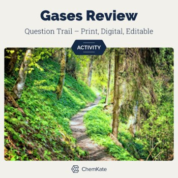 Gases Active Review Question Trail | Chemistry Distance Learning