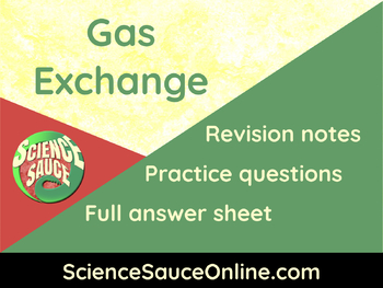 Gas Exchange - Handout and practice questions