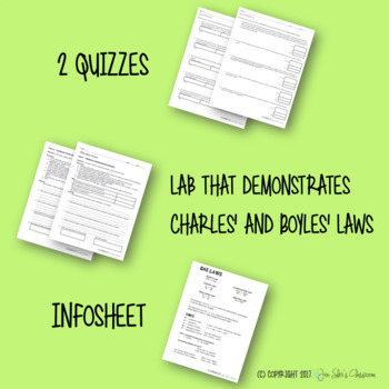 Gas Laws Labs and Worksheets