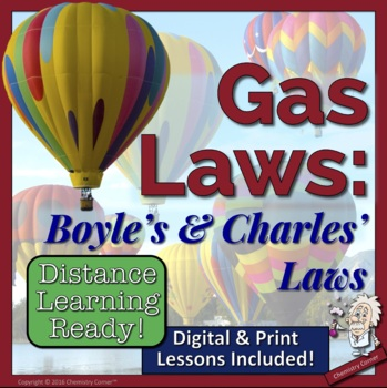 Gas Laws- Boyle's & Charles' Laws
