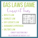 Gas Laws, Boyle's Law, Charles' Law Gay-Lussac's Law, Dalton's Law Connect Four