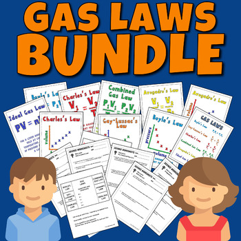 Gas Laws Bundle