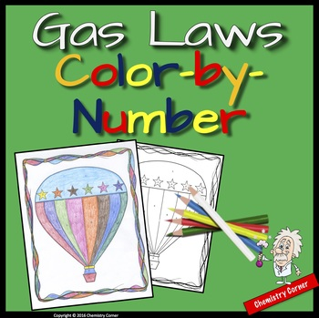 Gas Laws: Color-By-Number