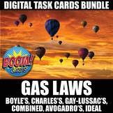 Gas Laws Boom Cards BUNDLE   Distance Learning   Self-Grading